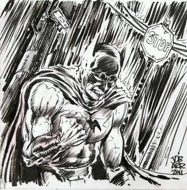 James O' Barr  Club Batman 2011 by Club-Batman