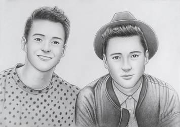 Jacksgap Twins by MCorderroure