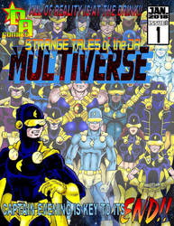 Strange Tales of the DA Multiverse (Cover) by Captain86