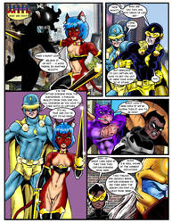 Strange Tales of the DA Multiverse page 5 text by Captain86