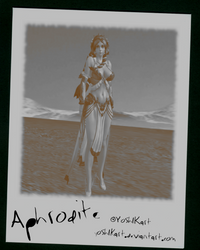 SMITE - Aphrodite Polaroid by Yosh1Kart