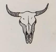 Inktober Day 15: Bison by AquaticJM