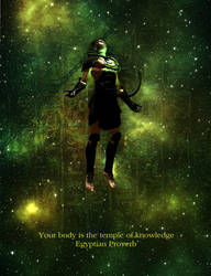 Your Body is the Temple of Knowledge by Steamrider86