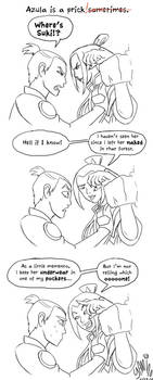 Azula is a Prick by Yamino