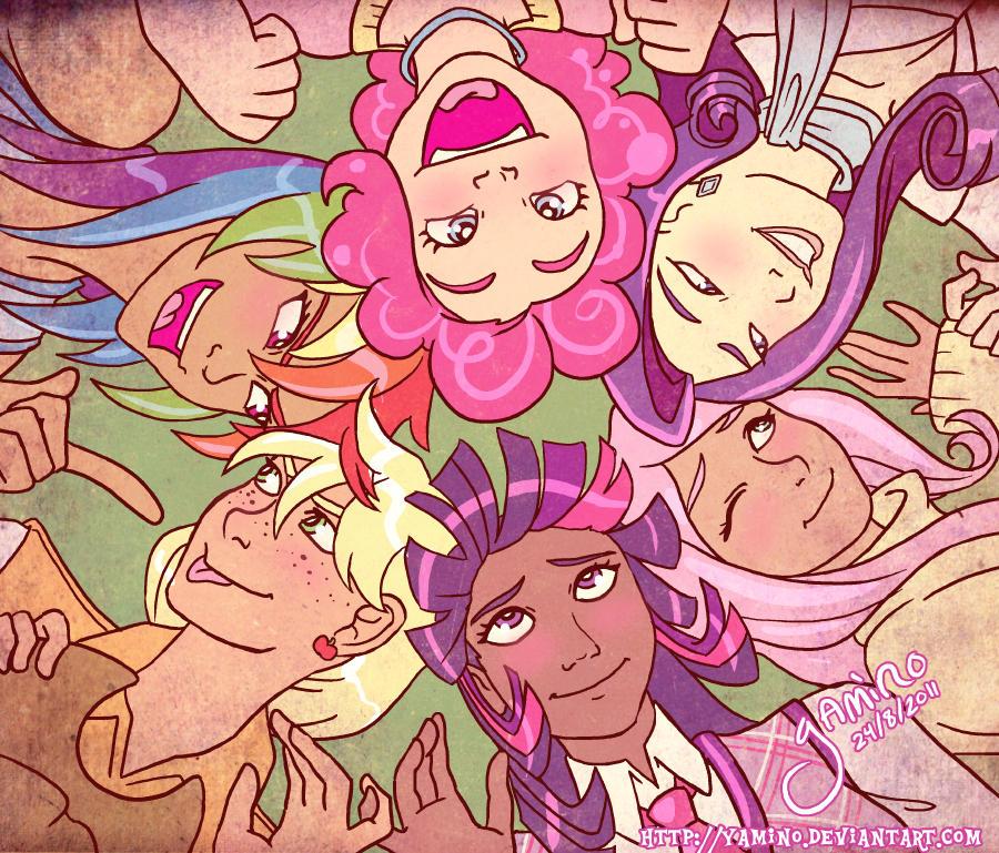 Friendship is Magic by Yamino