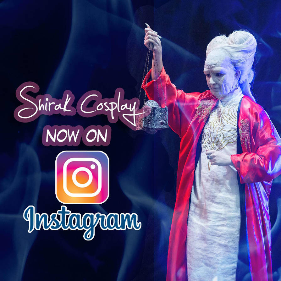Now on Instagram!! by Shirak-cosplay