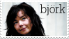 bjork II - stamp by kaistamps