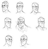medic faces by yang