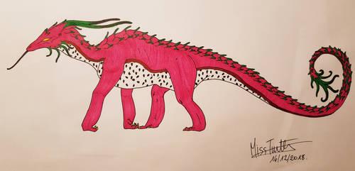 Dragon Fruit, Fruit Dragon by TurtleClairou