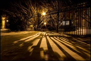 Striped Snow by bdusen