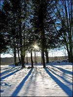 Radial Shadows by bdusen