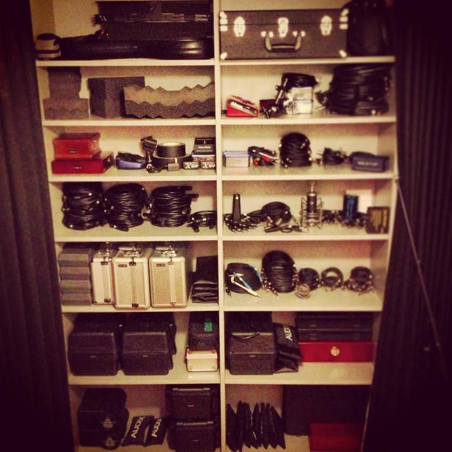 Mic Closet by danduskin
