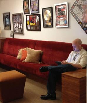 Daniel Duskin at Bernie Grundmann Studios by danduskin
