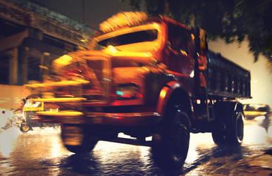 truck by myndsnare