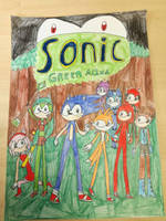 sonic green aqua cover page by biekgirl100