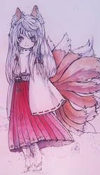 Kitsune Ykai by Aucifiel