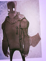 Frankenstein's robot by Static-Vision