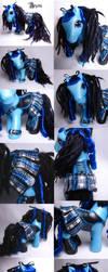 Aozora goth corset pony by Woosie