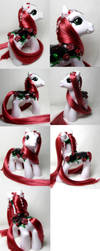 Rose merry go round pony by Woosie