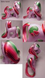 Melon Splash custom pony by Woosie