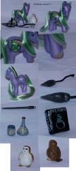 Slytherin custom pony V. 2 by Woosie