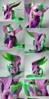 Cabernet the pegasus pony by Woosie