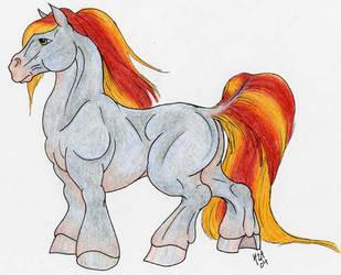 Male Pony v.1 by Woosie