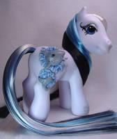 3-D Shark little pony custom by Woosie