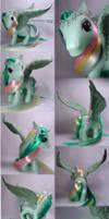 G3 Braided Beauty little pony by Woosie