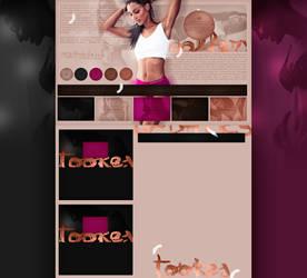 free design ft. Jasmine Tookes by mosbiusdesigns