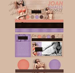 free design ft.  Joan Smalls by mosbiusdesigns
