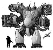 Behemoth Battlesuit by Freethinker1984