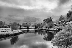 Snowy Wye by Oldtoppy