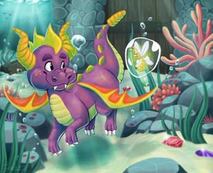 Spyro by erikathegoober