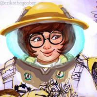 Beekeeper Mei WIP by erikathegoober