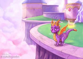 Spyro Reignited by erikathegoober