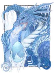 Ice Dragon by Laikari