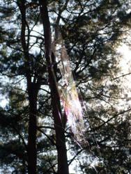 Rainbow Spider by NeonPersonalSecurity