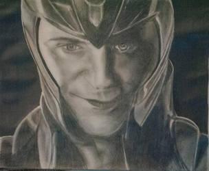Loki by RaychulWhatsername