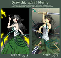 Draw this again! Meme by 7nikage