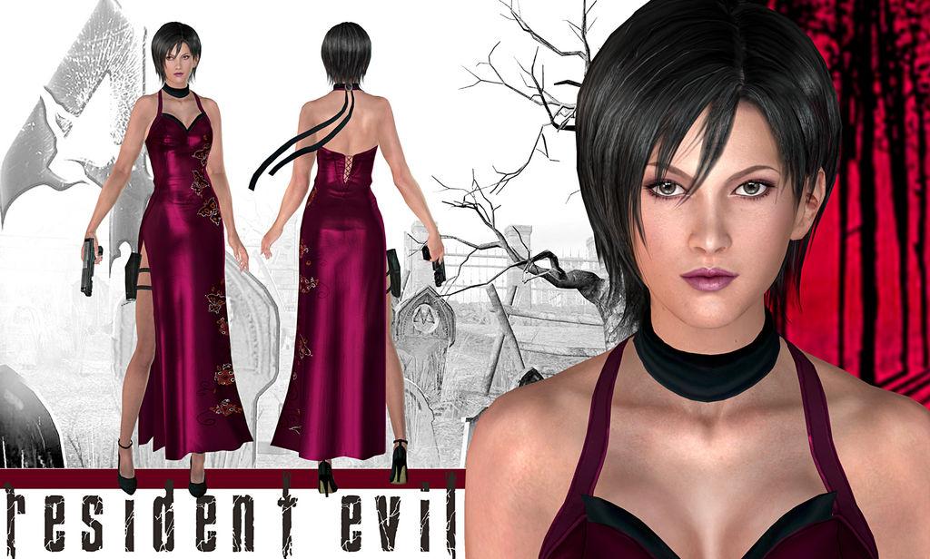 [RESUELTO] Ada Wong para resident evil 5 Resident_evil_4___ada_wong_by_konradm96_d9y5ub5-fullview