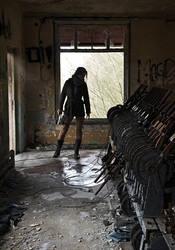 ROTTR - abandoned engine room by konradM96