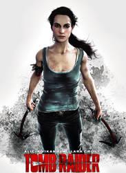 ''I am survivor'' Alicia Vikander as Lara Croft by konradM96