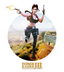 Classic TombRaider LaraCroft Nevada model release by konradM96