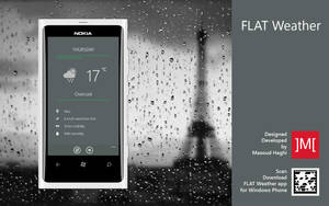 Flat Weather for Windows Phone by masoudhaghi