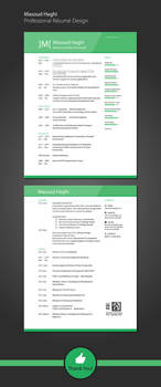 Resume Design and Branding by masoudhaghi