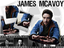 Another James McAvoy Wallpaper by Darth-CookieCIA001