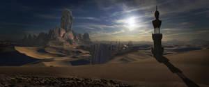Desert by guibzz