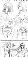 2008 :: Labyrinth sketches by PinkAppleJam