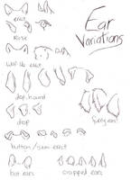 Canine Ear variations by mx-mouse